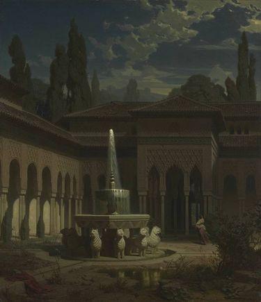 Der Löwenhof der Alhambra