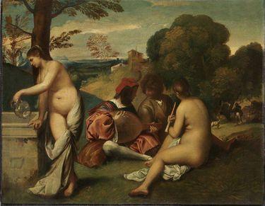Ländliches Konzert (nach Giorgione)