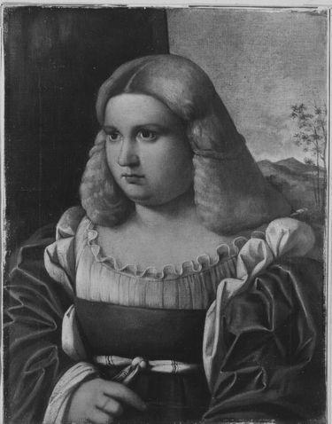 Bildnis einer Dame (nach Alessandro Oliverio)
