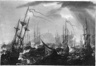 Stürmisches Meer (Marine)