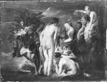 Allegorie der Fruchtbarkeit (Huldigung an Pomona)