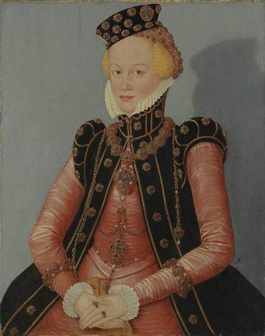 Bildnis einer Dame (Markgräfin Elisabeth von Ansbach-Bayreuth?)