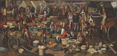 Marktszene (Fragment eines Ecce-homo)