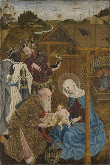 Marienaltar: Anbetung der Heiligen Drei Könige