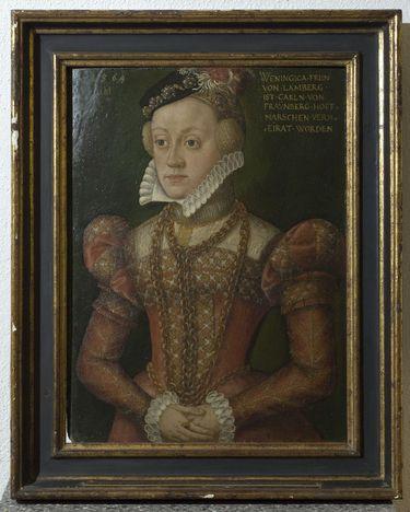 Bildnis der Benigna von Lamberg