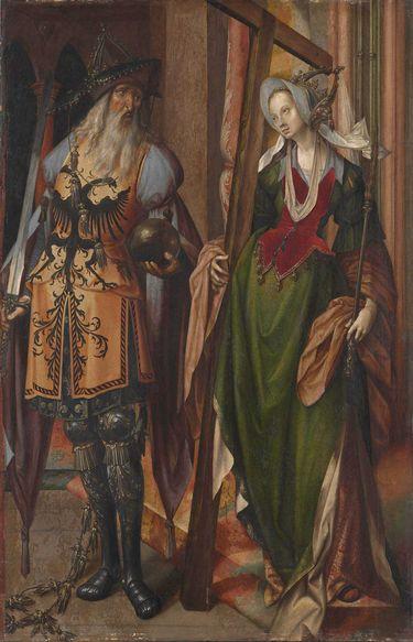 Kaiser Konstantin und die hl. Helena