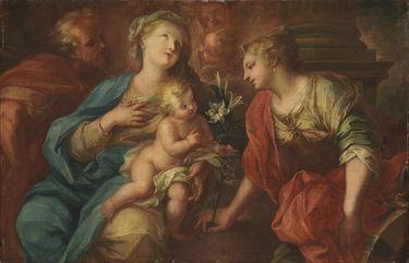 Die mystische Vermählung der hl. Katharina