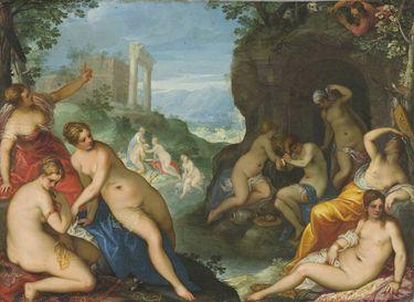 Diana und Aktäon