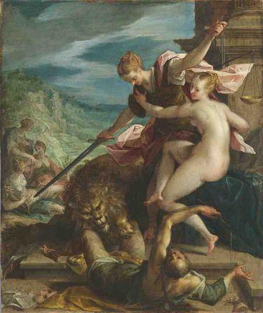 Allegorie des Sieges der Gerechtigkeit