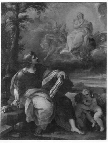 Hl. Johannes auf Patmos