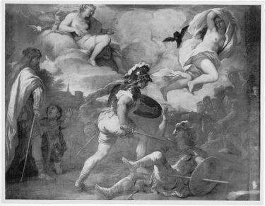 Zweikampf des Turnus und Aeneas