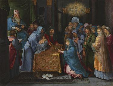 Darbringung Jesu im Tempel
