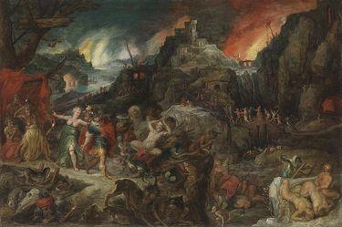 Aeneas in der Unterwelt