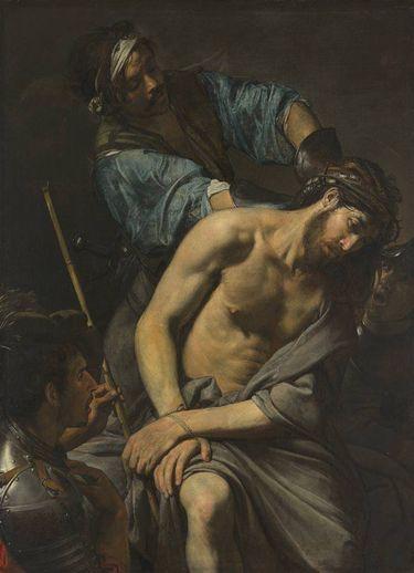 Dornenkrönung und Verspottung Christi