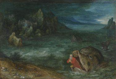 Jona entsteigt dem Walfisch