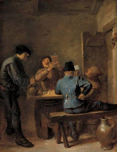 Eine Trinkstube