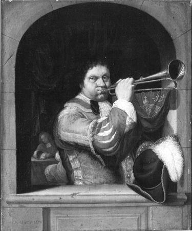 Ein Trompeter