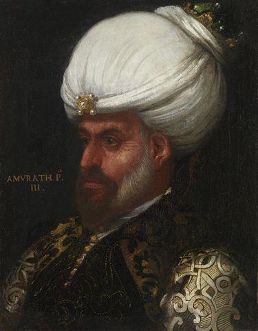 Bildnis des Sultans Murad I. (1359-1389)