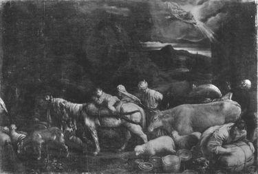 Abrahams Auszug nach Kanaan