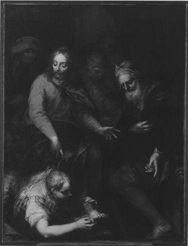 Christus im Hause des Simon