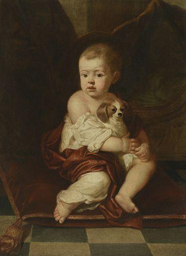 Pedro II. von Portugal als Kind