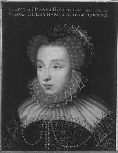 Herzogin Claudia, Tochter Heinrichs II. von Frankreich