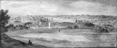Ansicht von Heidelsheim in Baden