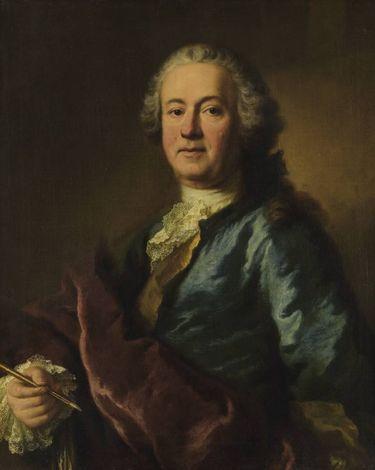 Bildnis des Hofmalers Balthasar August Albrecht (1687-1765)
