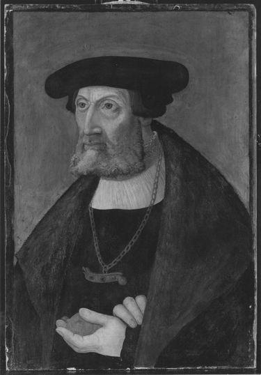 Bildnis eines vornehmen Herren (angeblich Ruprecht Stüpf, Bürgermeister von München)