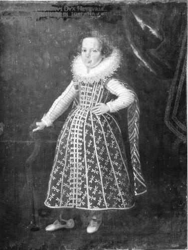 Kinderbildnis des Prinzen Ferdinand II. von Toskana, Sohn des Großherzogs Cosimo II.