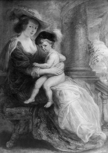 Helene Fourment mit ihrem erstgeborenen Sohn Frans