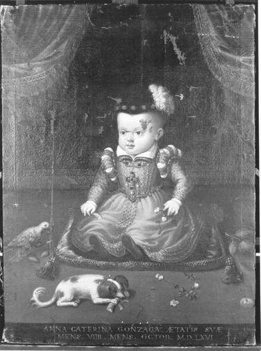 Kinderbildnis der Anna Katharina Gonzaga