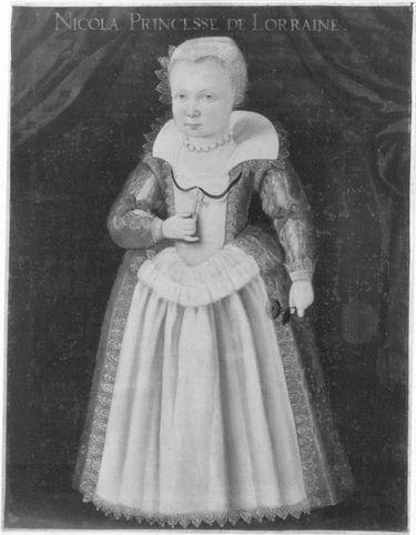 Nicole, Tochter Herzog Heinrichs II. von Lothringen (1608-1657)