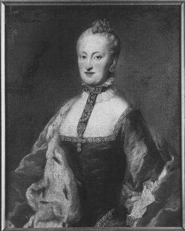 Bildnis der Maria Anna, Gemahlin des Kurfürsten Max III. Joseph