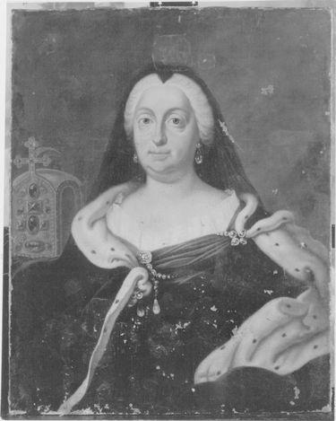 Bildnis der Maria Amalie von Österreich, Witwe des Kaisers Karl VII.