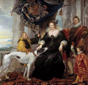Porträt der Aletheia Talbot, Gräfin Arundel
