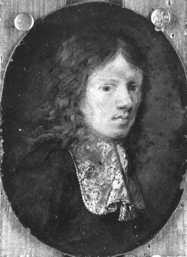 Brustbild eines jungen Mannes