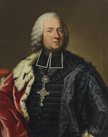 Bildnis des Adam Friedrich von Seinsheim, Fürstbischof von Würzburg und Bamberg (1708-1779)