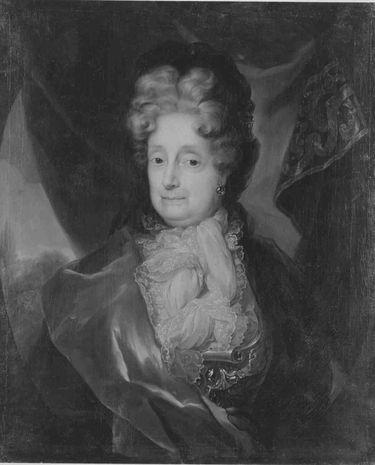 Bildnis der Sophie von der Pfalz, Kurfürstin von Hannover, Herzogin von Braunschweig-Lüneburg (1630-1714)