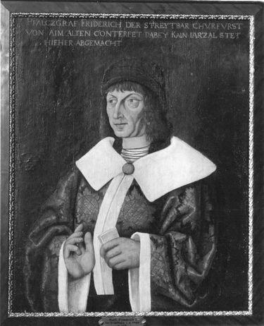 Kurfürst Friedrich I. der Siegreiche