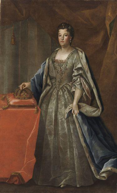 Bildnis der Therese Kunigunde, Gemahlin des Kurfürsten Max Emanuel von Bayern (1676-1730)