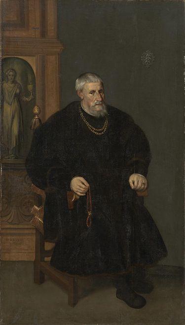Bildnis des Wilhelm der Ältere, Reichserbtruchsess, Freiherr zu Waldburg, Herr zu Scheer und Trauchburg (1469-1557)