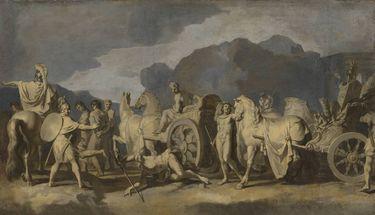 Triumphzug Alexanders des Großen: Gefangene und Streitwagen (Folge 8/12)