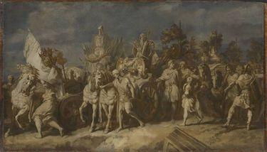 Triumphzug Alexanders des Großen: Kriegstrophäen und Feldzeichen (Folge 4/12)