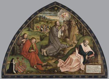 Christus am Ölberg (Epitaph der Agnes von Burgau)