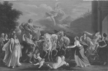 Einzug des Kurfürsten Johann Wilhelm von der Pfalz