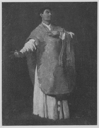 Studie für den heiligen Philipp von Neri