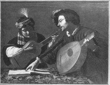 Musizierendes Paar