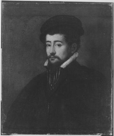 Bildnis eines jungen Mannes in halber Figur