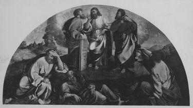 Verklärung Christi: Lünette